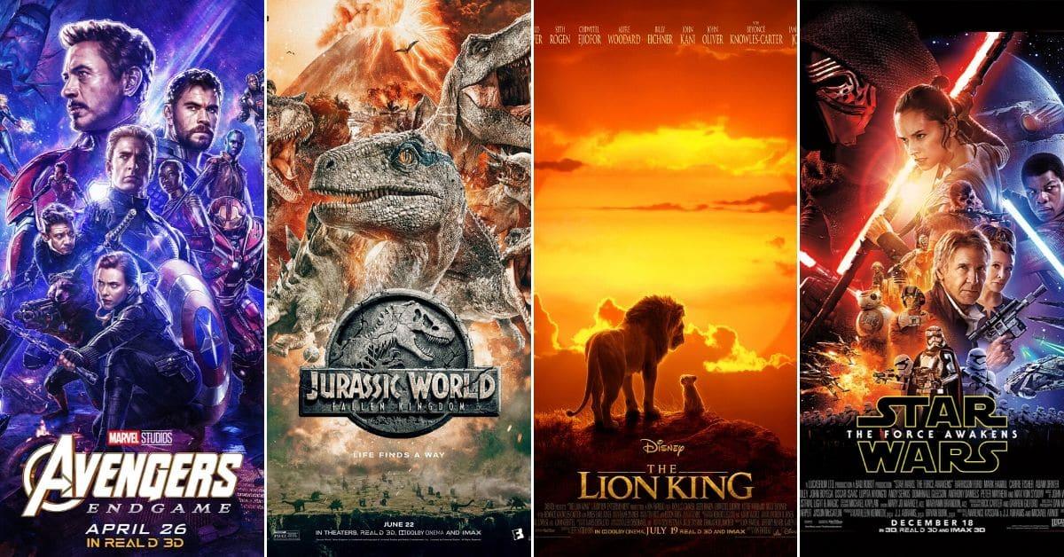 15 najvećih kino hitova prošlog desetljeća