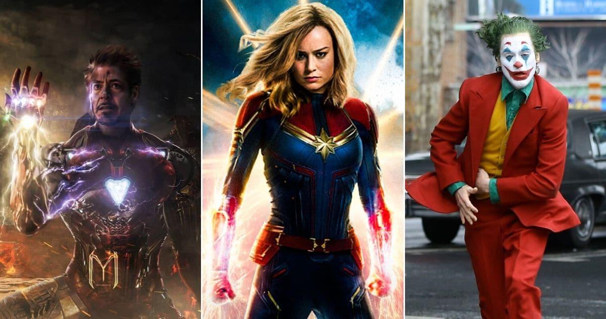 Svi ključni Marvel i DC likovi 2019. godine poslagani od najgoreg do najboljeg