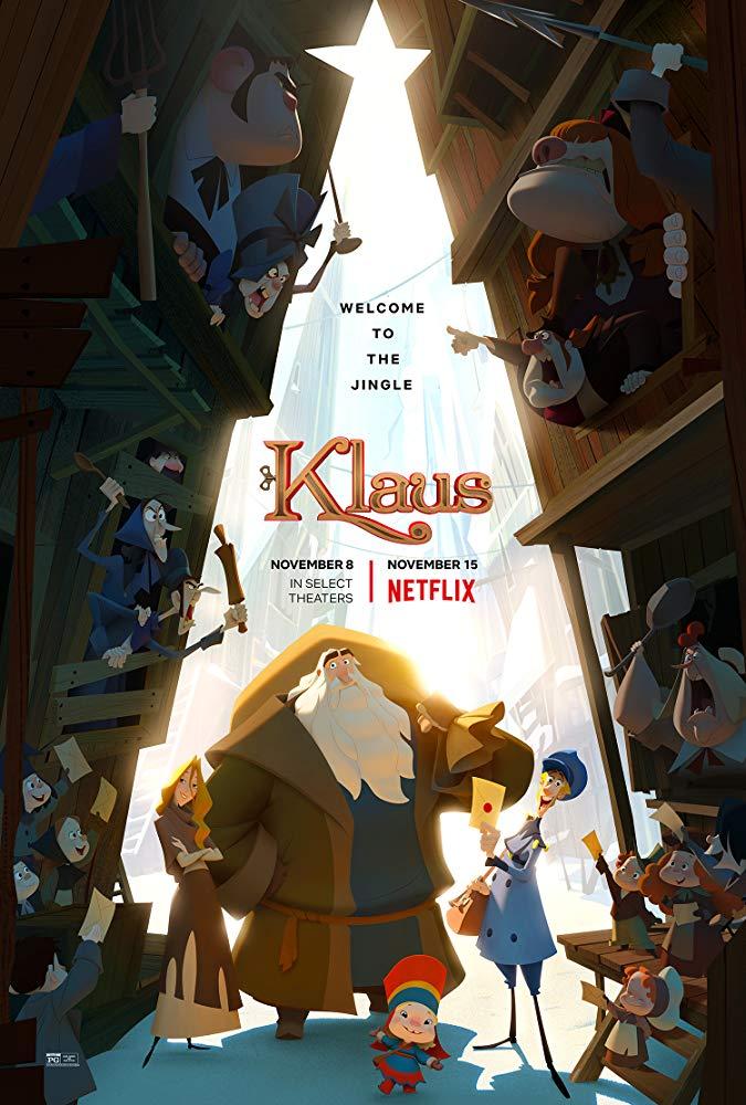 Recenzija: Klaus (2019)