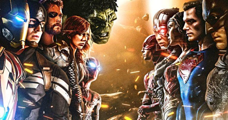 2021. biti će ultimativna Marvel v DC filmska borba