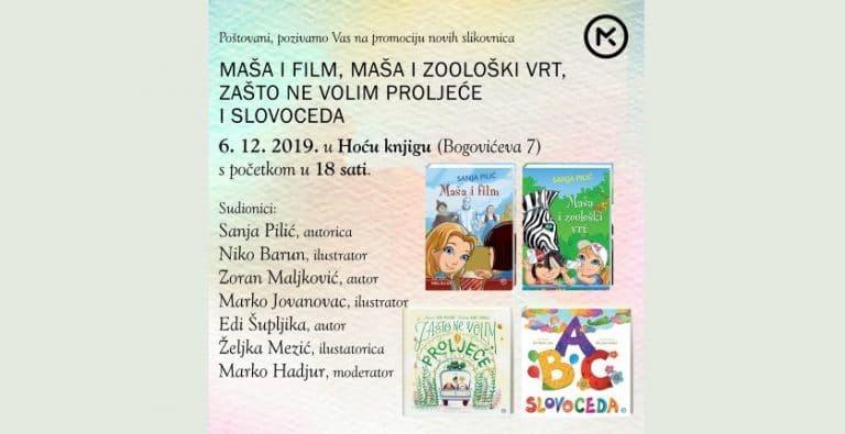 Mozaik knjiga Vas poziva na promociju novih slikovnica