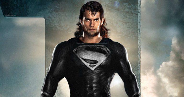 Justice League: Snyder Cut otkrivena nova slika koja pokazuje Cavillovo crno Superman odijelo