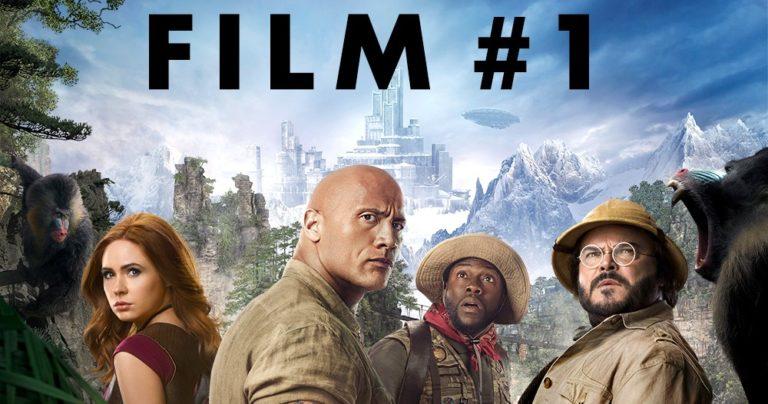 Novi Jumanji ponovno ruši rekorde – Film #1 u domaćim i svjetskim kinima!