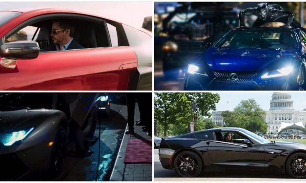 10 Najboljih Vozila u Stripovskim filmovima