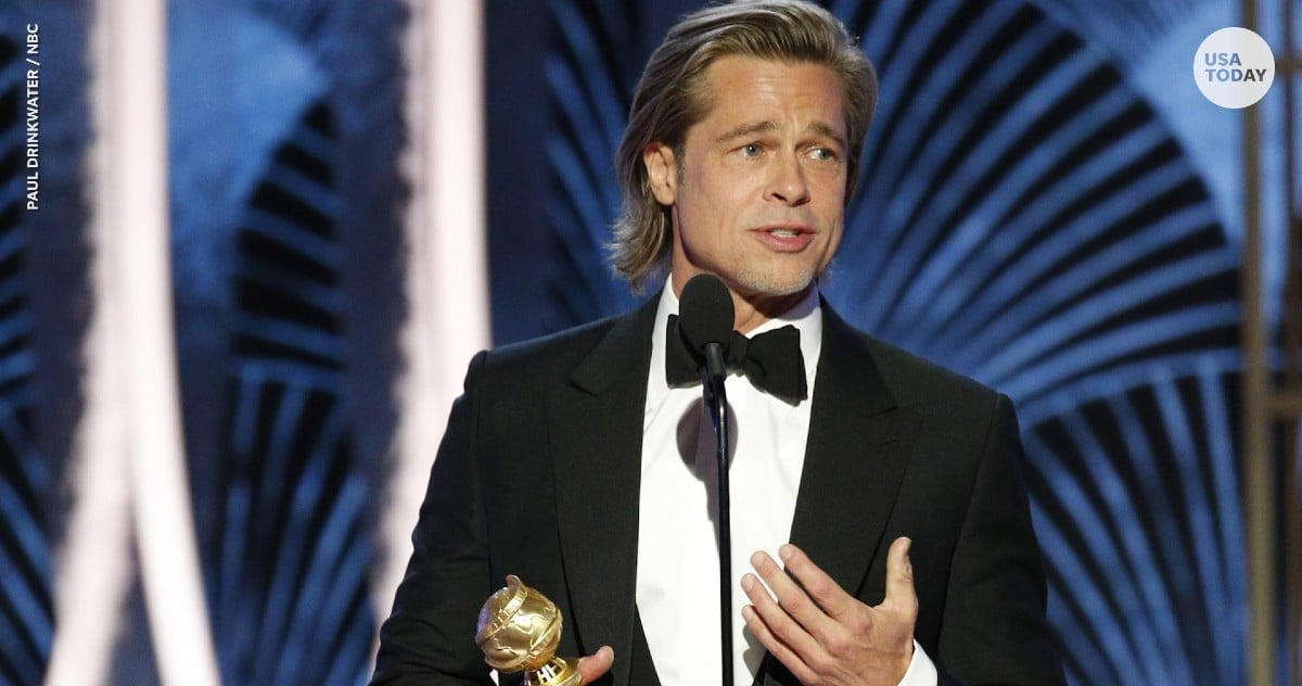 Brad Pitt koristi Golden Globes govor kako bi se našali na račun DiCaprijevog Titanica