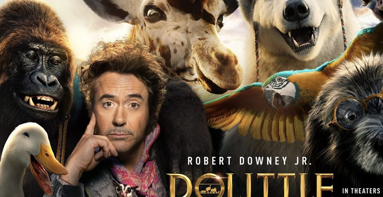 Recenzija: Dolittle (2020)