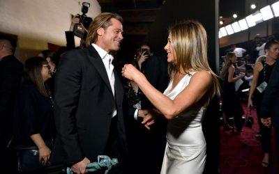 Trenutak koji su svi čekali: Brad Pitt i Jennifer Aniston susreću jedno drugo iza bine SAG nagrada