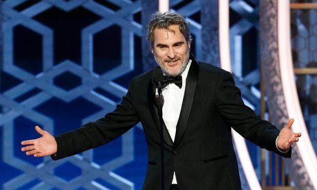 Pogledajte cijeli ne cenzurirani govor Joker zvijezde Joaquina Phenixa na Golden Globes