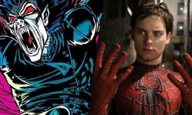 Procurila slika Jared Letovog 'Morbiusa' koja uključuje Tobey Maguireovog 'Spider-Mana'