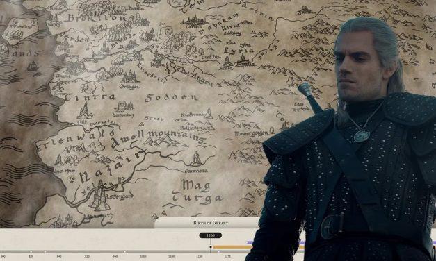 Netflix podijelio službenu interaktivnu Witcher mapu i još detaljniju vremensku crtu događanja serije