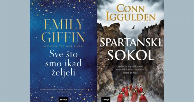 Fantastični novi romani u izdanju nakladničke kuće Znanje