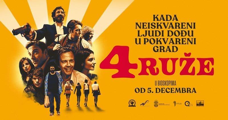 Trailer: 4 Ruže (2019) – Srpska krimi drama s elementima komedije