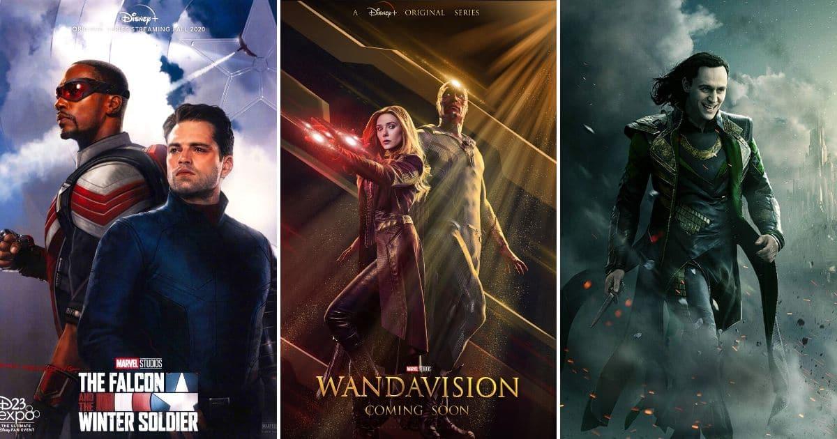 Prvi pogled na Marvelove 'The Falcon and the Winter Soldier,' 'WandaVision' i 'Loki' – TV spot