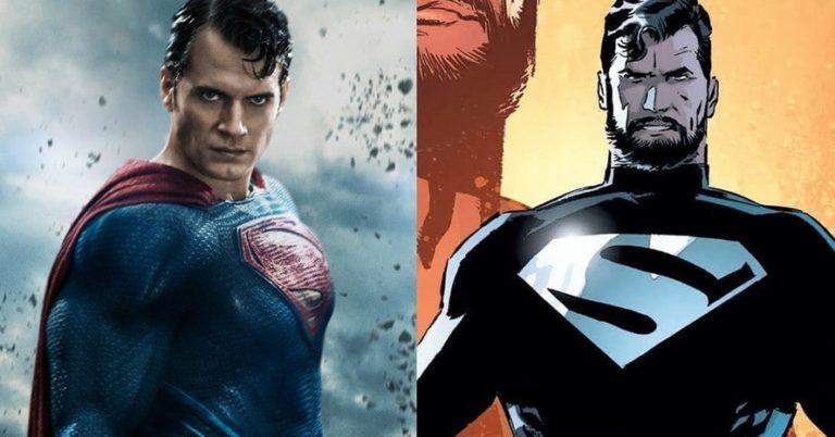 Henry Cavill u Supermanovom crnom odijelu i s bradom u odličnoj novoj fanovskoj slici