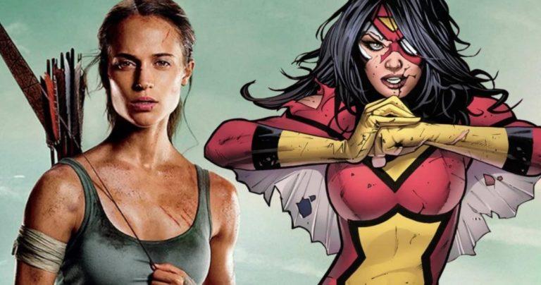 Glasine kažu da Sony razvija Spider-Woman film s Alicijom Vikander u glavnoj ulozi