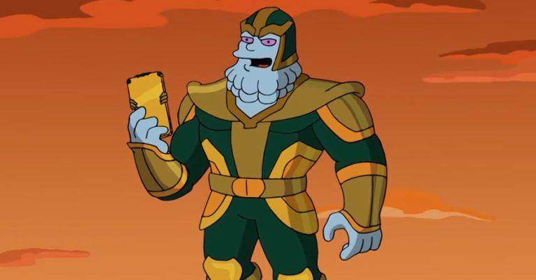 'The Simpsons' u traileru otkrili prvi pogled na Marvelovog Kevina Feigea kao Thanosa