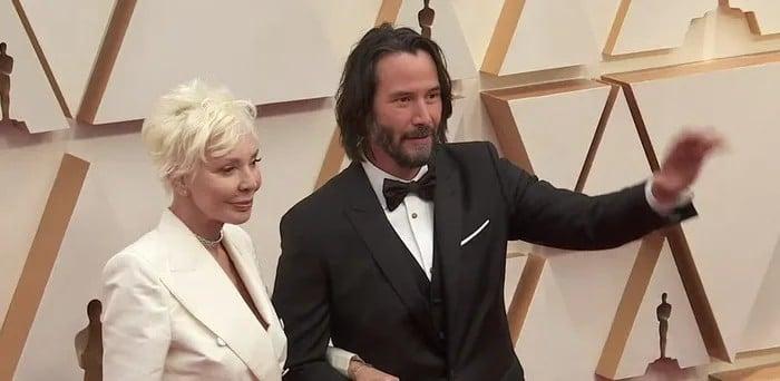 Keanu Reeves poveo svoju majku, dizajnericu Patriciju Taylor, na dodjelu Oscara