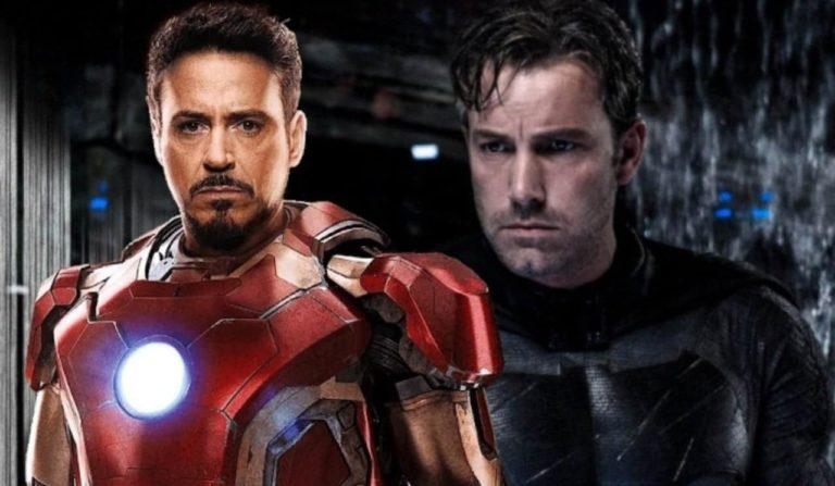 Bivši Batman Ben Affleck zahvalio se Marvelovom Iron Manu Robert Downey Jr.-u