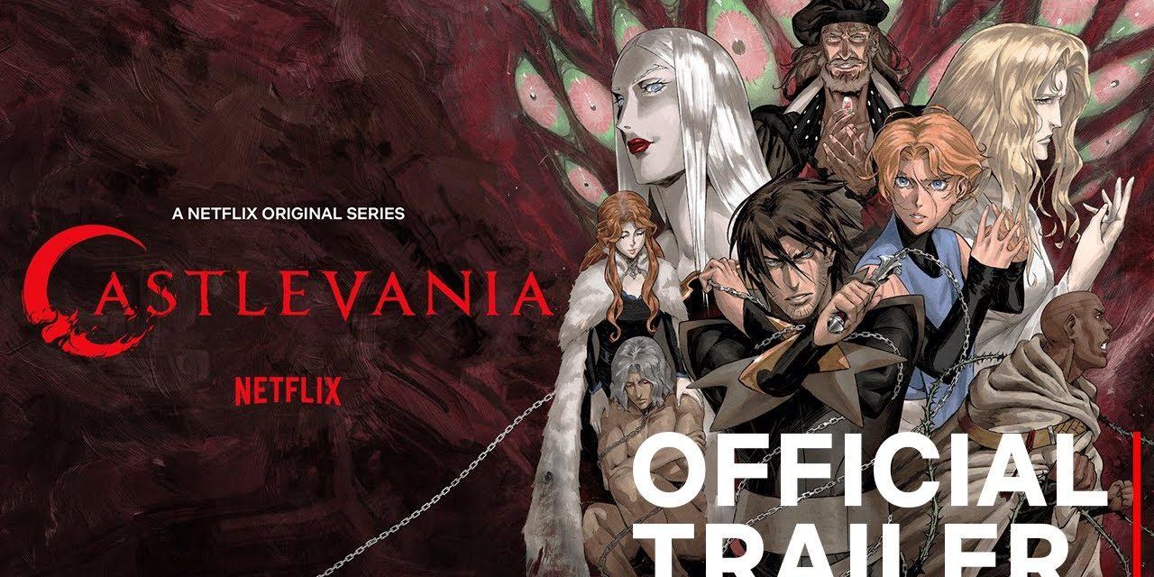 Brutalni trailer za treću sezonu Netflixove animirane horor/fantazija serije Castlevania