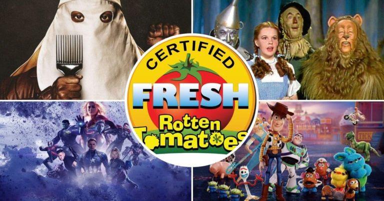 10 Najbolje ocijenjenih filmova na Rotten Tomatoes svih vremena