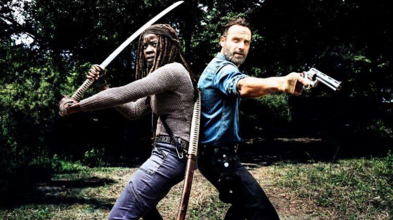 The Walking Dead: Andrew Lincoln otpjevao Danak Gurira povodom njezinog odlaska (video)
