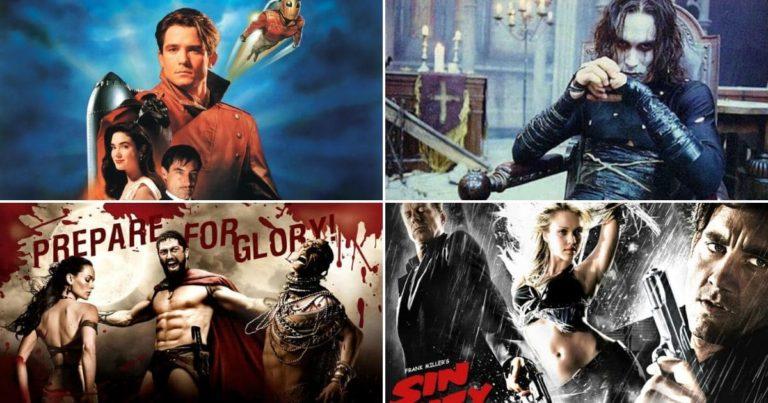 Koji je vaš omiljeni live-action stripovski film ne temeljen na DC/Marvel (anketa)?