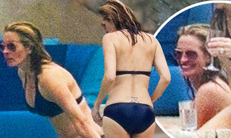 Julia Roberts (52) pokazuje nevjerojatno tijelo i leđnu tetovažu u sićušnom bikiniju