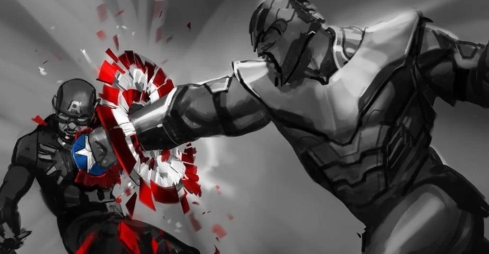 Avengers: Endgame je imao još jednu ideju za slomiti štit Kapetana Amerike (slike u članku)