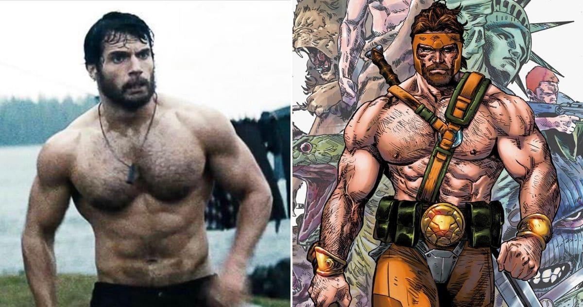 Marvelov Illustrator nam pokazuje kako bi Henry Cavill mogao izgledati kao Hercules