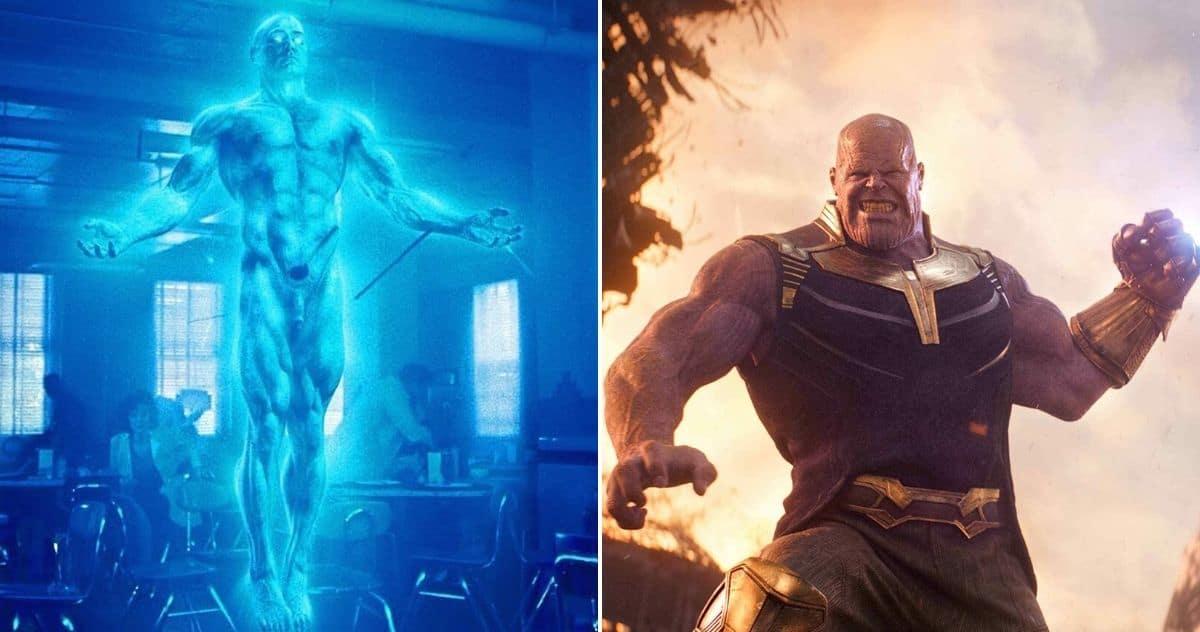 Dr. Manhattan Vs. Thanos sa svim Infinity Kamenjem: Može li najjači Watchmen zaustaviti Marvelovog Ludog Titana?