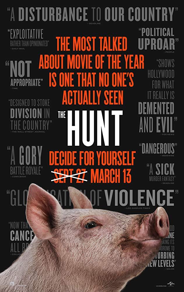Recenzija: The Hunt (2020)