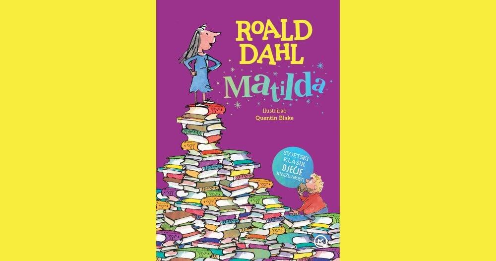 Mozaik knjiga s ponosom predstavlja najvećeg pisca za djecu 20. stoljeća i njegovu MATILDU