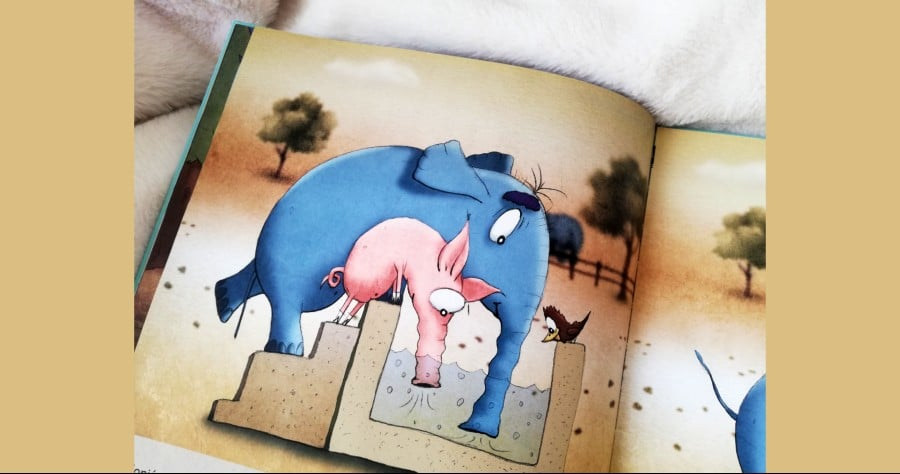 Recenzija knjige: Praščić Barney slijedi svoj nos