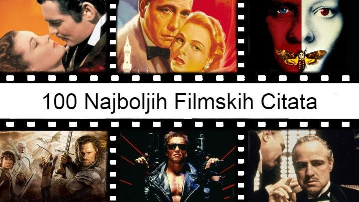 100 Najboljih filmskih citata svih vremena