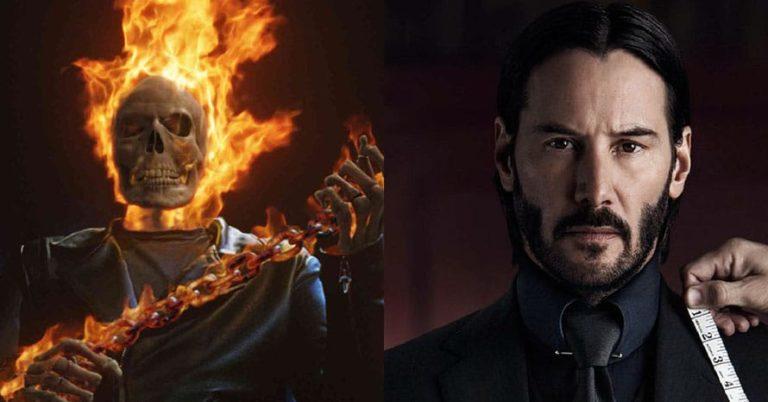 'John Wick' zvijezda Keanu Reeves postaje MCU Ghost Rider u novom odličnom fanovskom posteru