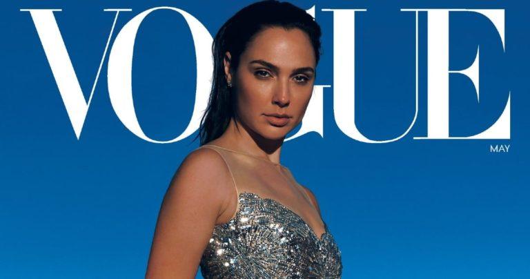 Wonder Woman zvijezda Gal Gadot krasi naslovnicu i stranice Vogue