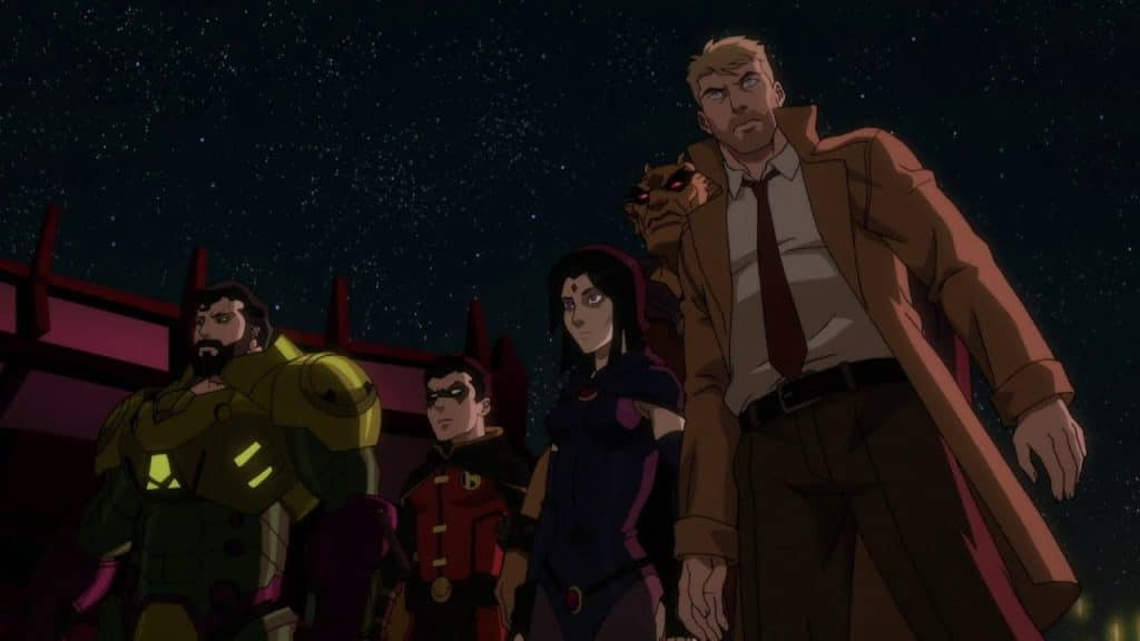 Recenzija: Justice League Dark: Apokolips War (2020)