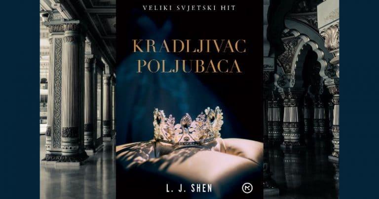 Mozaik knjiga predstavlja: L. J. Shen: Kradljivac poljubaca