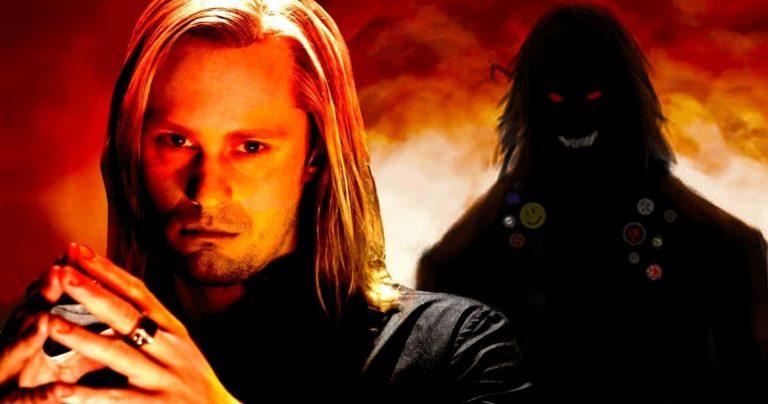 Prve slike iz The Stand mini-serije prikazuju Skarsgarda kao demonskog Randalla Flagga