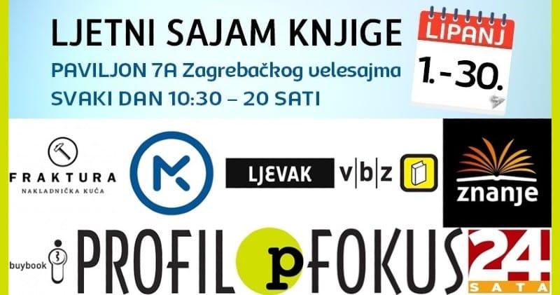 "Počeo ""Ljetni sajam knjiga"" na Zagrebačkom velesajmu"