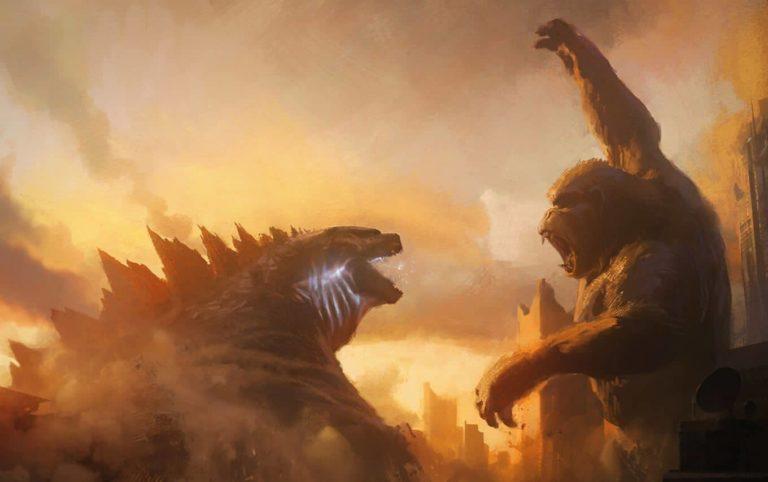 Godzilla vs Kong: Objavljena nova fotografija u kojoj Kong zadaje udarac Godzilli