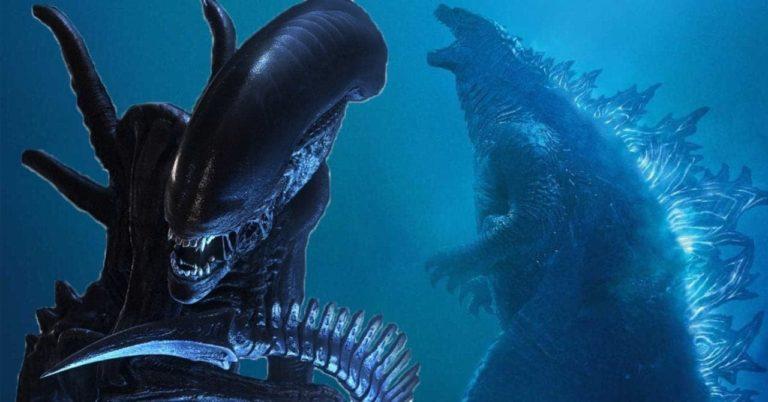 Godzilla susreće Aliena u zastrašujućoj fanovskoj slici