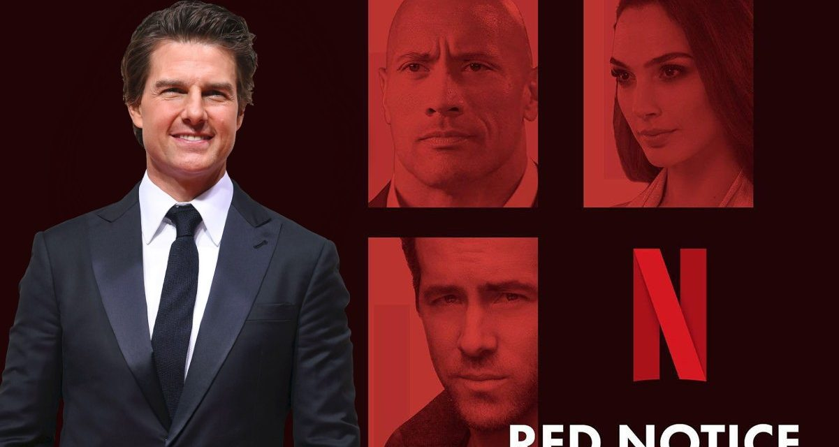 Tom Cruise navodno u pregovorima pridružiti se Netflixovom hit filmu s Gadot, Johnsonom i Reynoldsom