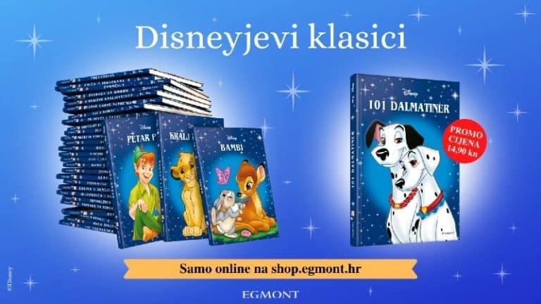 Disneyjevi klasici – plava kolekcija omiljenih Disneyjevih priča je ponovno u prodaji!