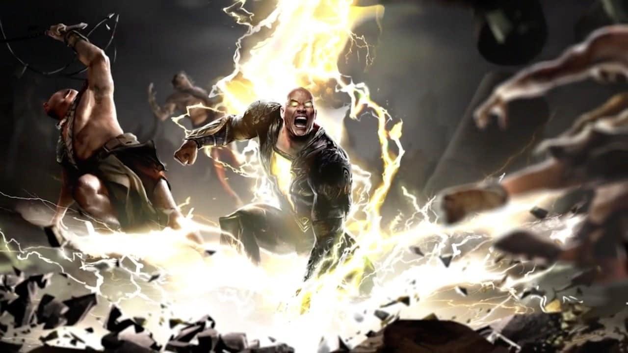 Black Adam će se sukobiti s Hawkmanom, Dr. Fate i Cyclone