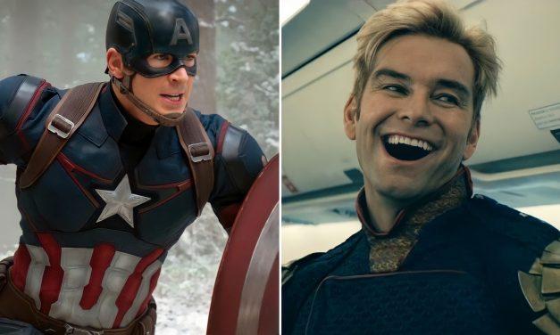 Pogledajte fanovski poster u kojem su Chris Evans i Antony Starr zamjenili uloge kao Homelander i Kapetan Amerika