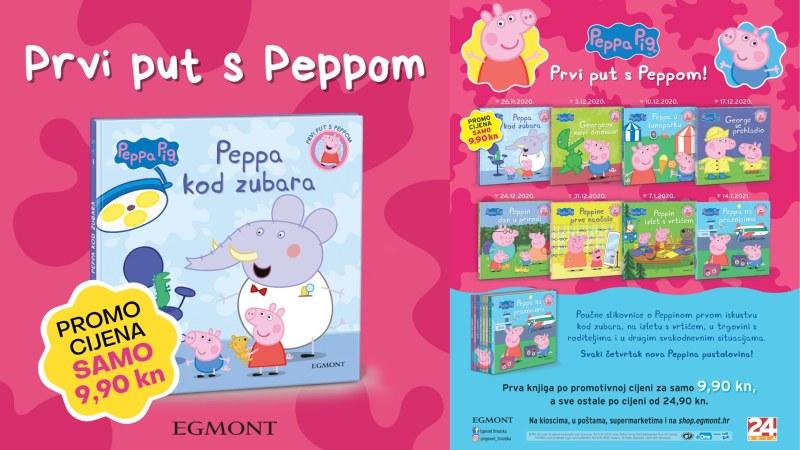 Zaboravite na strah od zubara uz poučne Peppa Pig slikovnice!