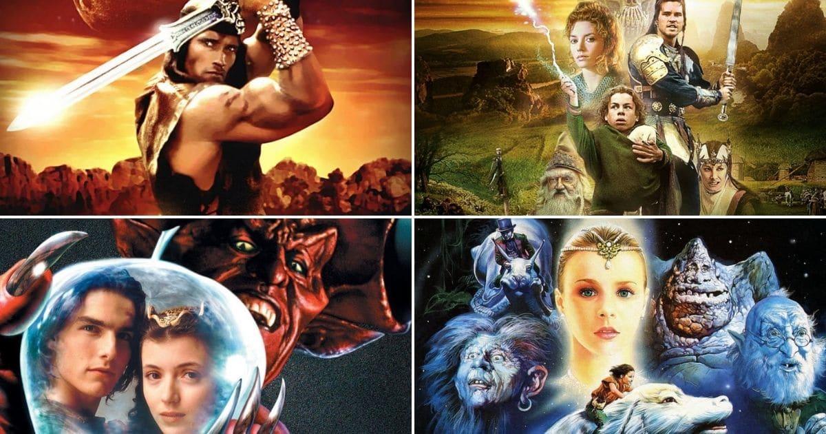 20 Najboljih Filmova Magije i Mačeva 80'tih