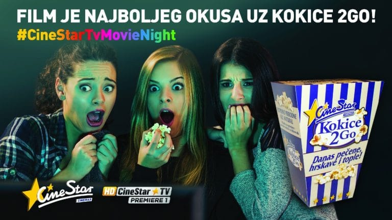 FILM JE NAJBOLJEG OKUSA UZ KOKICE 2GO I CINESTAR TV KANALE!