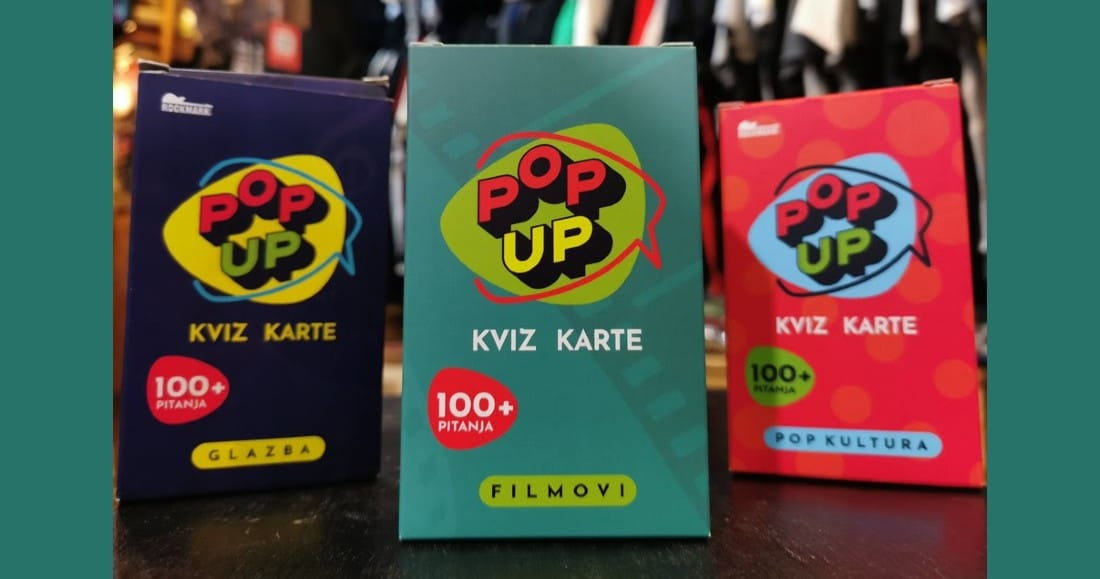 Pop-up kviz karte: novi špil - FILMOVI!
